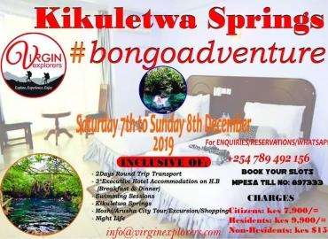 Kikuletwa springs Tz