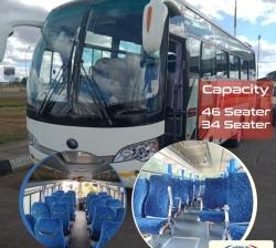 Kenya Bus Rental, Car Hire in Kenya (33, 45, 51 seater buses)