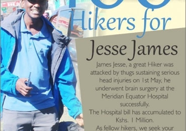100 Hikers in Support For Jesse James