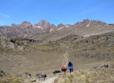 6 day Mt. Kenya trek Chogoria route round trip $720 30th September 2020