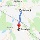 Nairobi Arusha by shuttle bus travel information