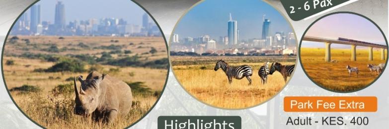 Nairobi National Park Half-Day Tour with 4×4 safari jeep