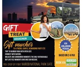 Nairobi National Park – Half Day tour (5 Hours)